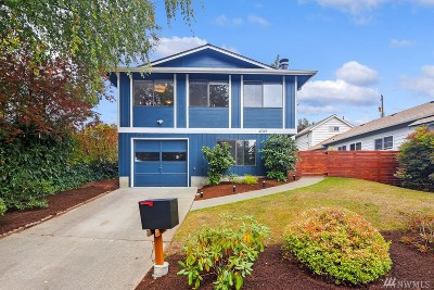 Seattle Single Family Home For Sale: 4049 50th Ave SW