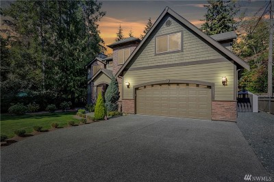 Snohomish Single Family Home For Sale: 12421 218th Place SE