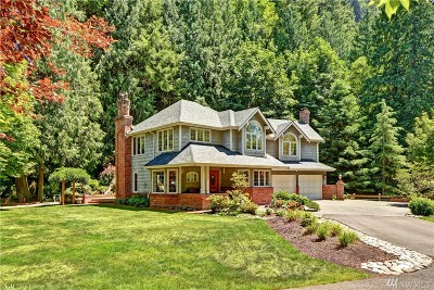 Issaquah Single Family Home For Sale: 11922 Issaquah Hobart Road Rd SE