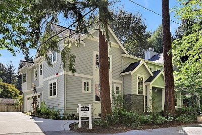 Mercer Island Single Family Home For Sale: 6223 86th Ave SE