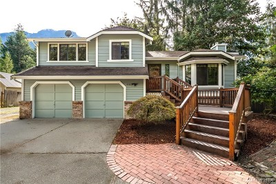 Snoqualmie Single Family Home Contingent: 43327 SE 77th St