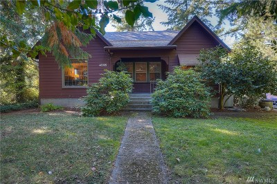 Eatonville Single Family Home For Sale: 46508 Lagrande Rd
