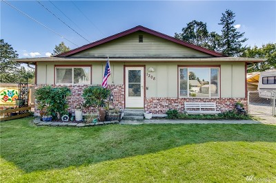 Tacoma Single Family Home For Sale: 1308 102nd St S