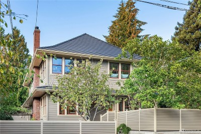 Seattle Single Family Home For Sale: 116 N 50th St
