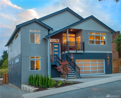Seattle Single Family Home For Sale: 3543 S Morgan St