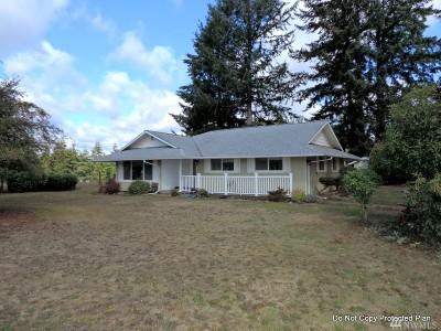 Chehalis Single Family Home For Sale: 1021 Koontz Rd