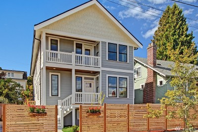 Seattle Single Family Home For Sale: 7723 18th Ave NE