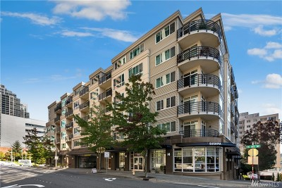 Bellevue Condo/Townhouse For Sale: 300 110th Ave NE #411