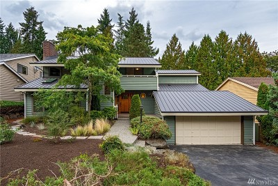 Seattle Single Family Home For Sale: 4520 NE 92nd St