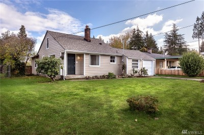 Shoreline Single Family Home For Sale: 15732 Palatine Ave N