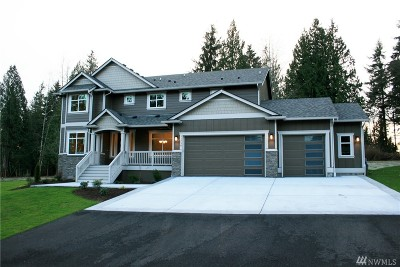 Snohomish Single Family Home For Sale: 11730 176th Ave SE #4
