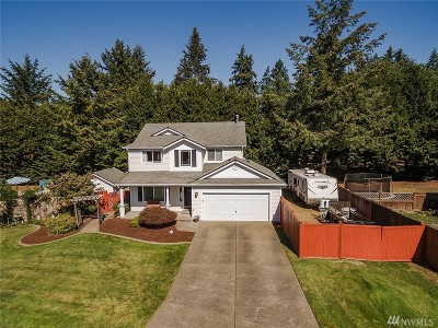 Spanaway Single Family Home For Sale: 4607 208th St Ct E