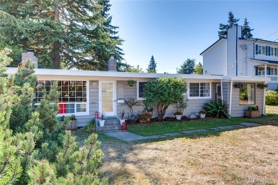 Seattle Single Family Home For Sale: 3707 SW 105th St