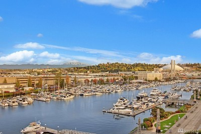 Tacoma Condo/Townhouse For Sale: 1515 Dock St #815