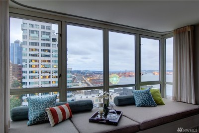 Seattle Condo/Townhouse For Sale: 2125 1st Ave #1304
