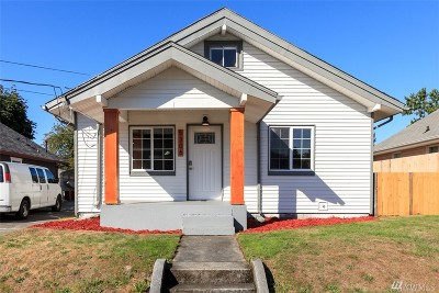 Tacoma Single Family Home For Sale: 5306 S Cushman Ave