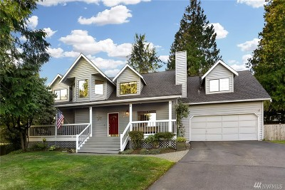 Mill Creek Single Family Home For Sale: 412 164th Place SE