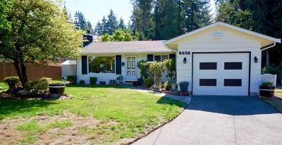 Mountlake Terrace Single Family Home For Sale: 6406 225th Place SW