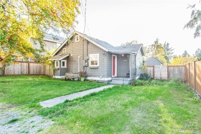 Tacoma Single Family Home For Sale: 6814 E E St