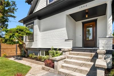 Seattle Single Family Home For Sale: 1842 S Weller St #1