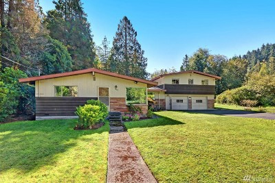 Lake Forest Park Single Family Home For Sale: 2823 NE Meadow Place
