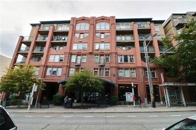 Seattle Condo/Townhouse For Sale: 123 Queen Anne Ave N #203