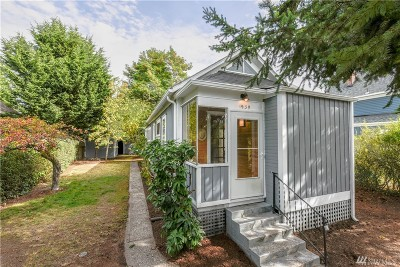 Tacoma Single Family Home For Sale: 1939 S Ash St