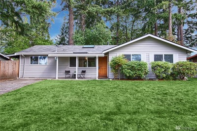 Bellevue Single Family Home For Sale: 1024 167th Place NE