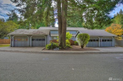 Thurston County Condo/Townhouse For Sale: 2835 60th Lane SE #B