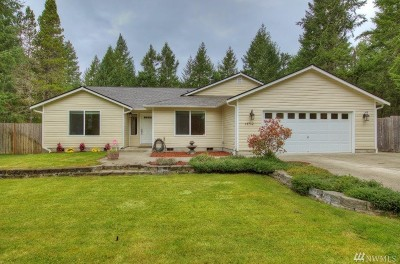 Shelton Single Family Home For Sale: 14712 N Us Hwy 101
