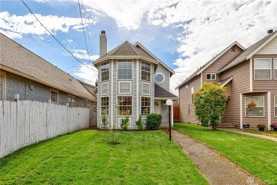 Seattle Single Family Home For Sale: 753 N 74th St