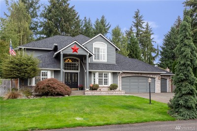 Pierce County Single Family Home For Sale: 9315 167th St Ct E