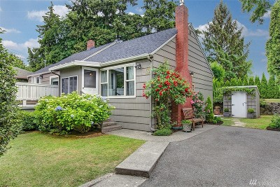 Seattle WA Single Family Home For Sale: $649,000