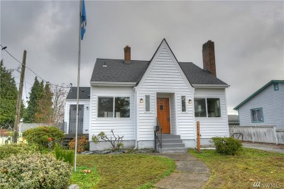 Tacoma Single Family Home For Sale: 6117 S Sheridan Ave