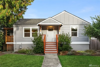 Seattle Single Family Home For Sale: 5644 40th Ave SW