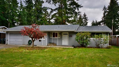Puyallup Single Family Home For Sale: 6902 157th St Ct E