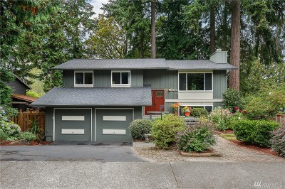 Kirkland Single Family Home For Sale: 10727 126th Ave NE
