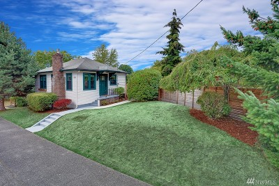 Seattle Single Family Home For Sale: 7527 12th Ave NE