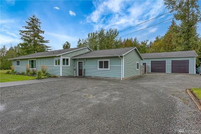 Bellingham Single Family Home For Sale: 4955 Hannegan Rd