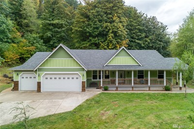 Olympia Single Family Home Contingent: 8927 Sherman Valley Rd SW