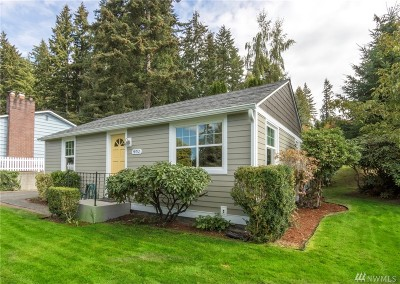 Bothell Single Family Home For Sale: 19012 103rd Ave NE