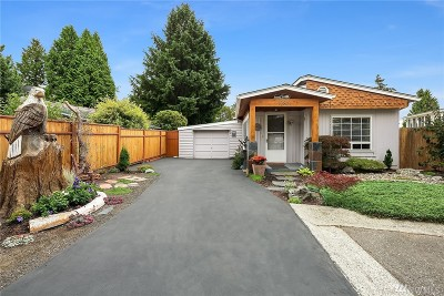 Bothell WA Single Family Home For Sale: $280,000