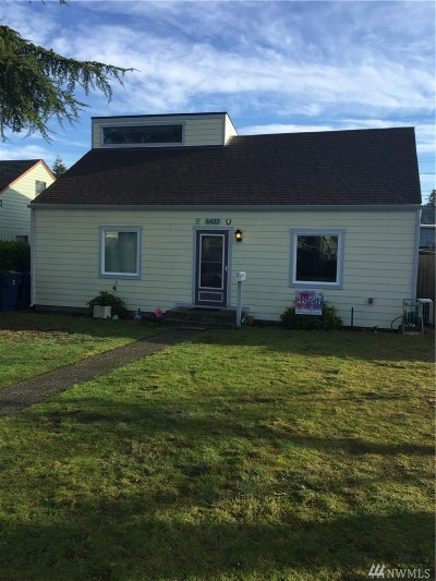 Tacoma Single Family Home For Sale: 6433 S Fife St