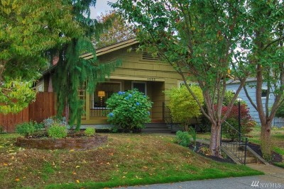 Tacoma Single Family Home For Sale: 1223 S Verde St