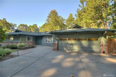 Olympia Single Family Home For Sale: 9224 Mullen Rd SE