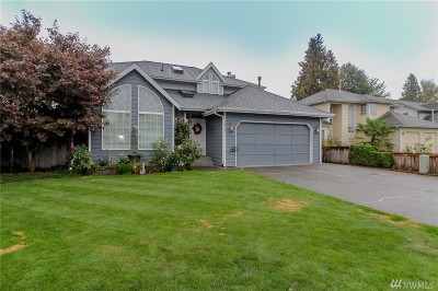 Auburn Single Family Home For Sale: 3418 Olympic St SE