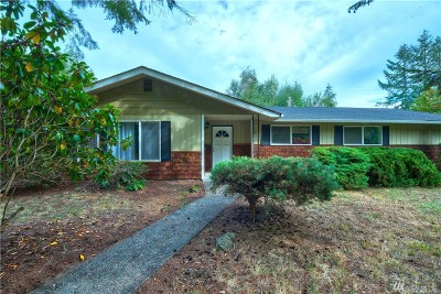 Yelm Single Family Home For Sale: 14346 Vail Rd SE