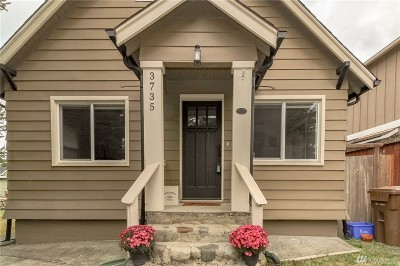 Tacoma Single Family Home For Sale: 3735 N Shirley St