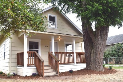 Centralia Single Family Home For Sale: 1014 S Tower Ave