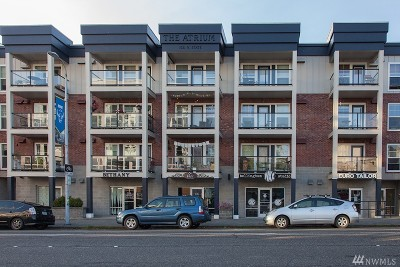 Bellingham Condo/Townhouse Sold: 1031 N State St #307